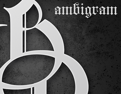 BP Ambigram / Monogram
