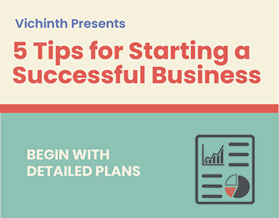 5 Tips For Starting a Successful Business- Infographics