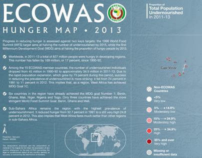 ECOWAS Map - FAO ESS