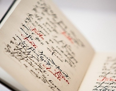 Calligraphy every day
