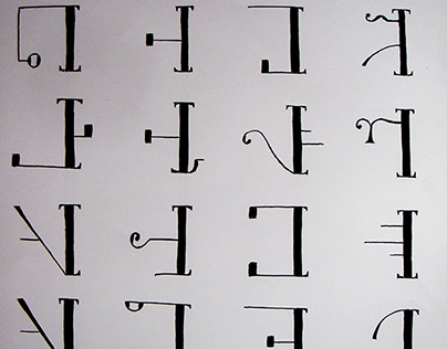 Alphabet et monogramme