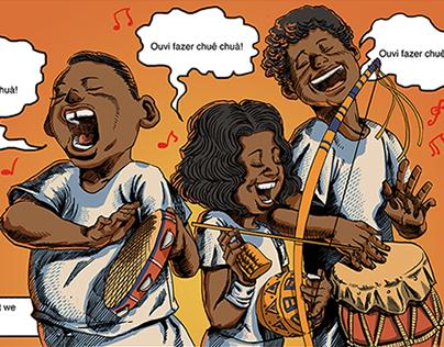 Comic of Capoeira