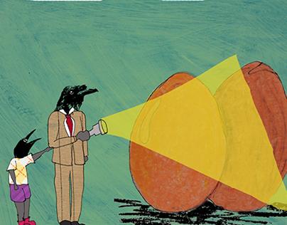 Crows and prejudice // Illustration