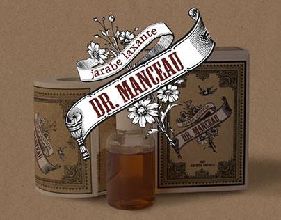 Doctor Manceau´s Syrup Packaging