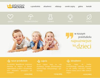 Kindergarten's website