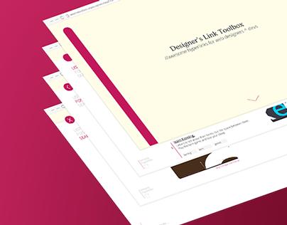 Designer Link Toolbox Website