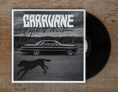 Caravane / Chien noir