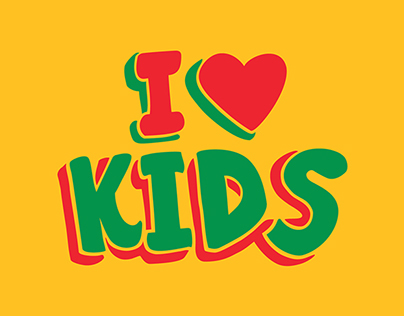 Kids' Mall Typo Branding