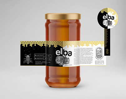 Bee honey logo & product design