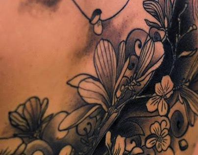 Black & Grey Tattoos