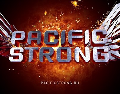 Pacific Strong font