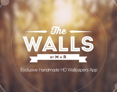 The walls by mnr exclusive wallpaper app on behance for Exclusive wallpapers for walls