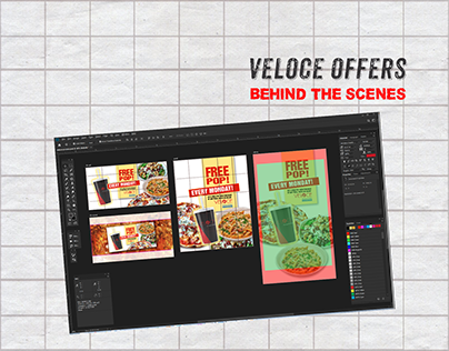 Veloce Offers - Behind the Scenes (FB & IG ads)