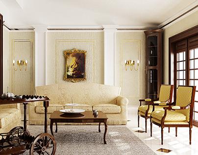 private classic villa