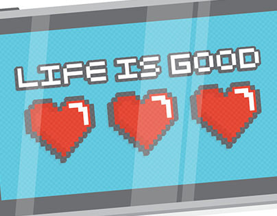 Life is Good Video Game (Life Is Good T-Shirt Contest)