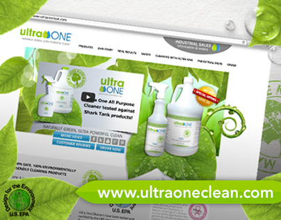 Ultra One Clean - Website Redesign