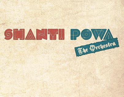 Santi Powa Orchestra CD & Logo Design