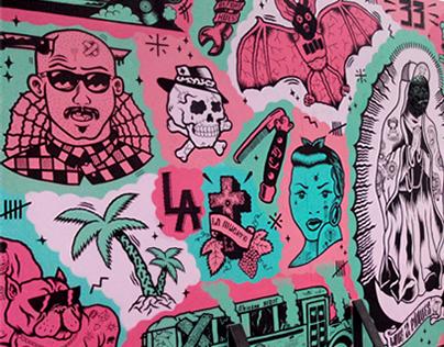 CHICANO DREAM x Mural