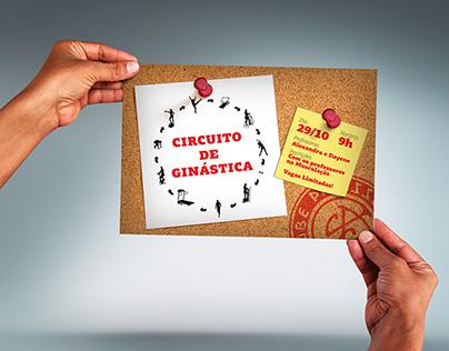Cartaz Circuito de Ginástica 2011