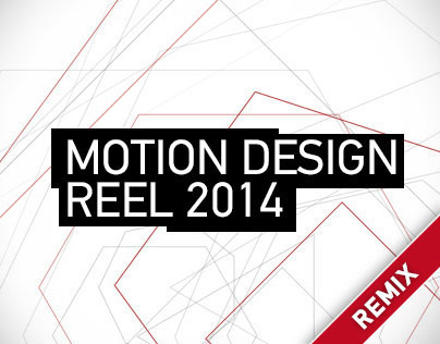 Motion Design Reel 2014