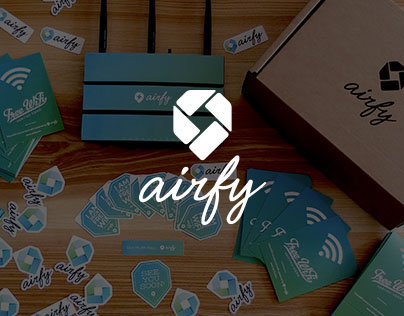 airfy — Designing better public WiFi experience