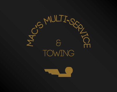 Mac's Services Logo and Business Card