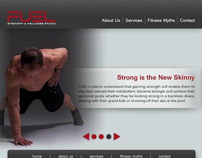 Fitness Website Comp