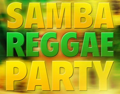 Poster: Afro Brazilian Samba Party