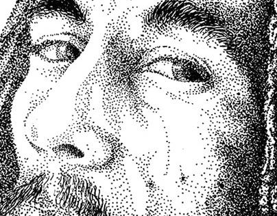 Indian Ink Dots: Mister Bob Marley