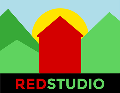 New RED Studio logo