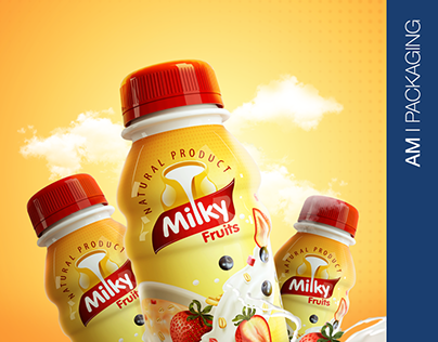 Milky Fruit I Packaging