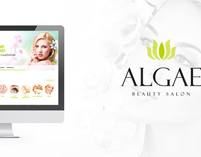Algae Beauty Salon - Brand Identity