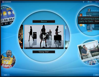 Qualcomm - Smart Tablet Concept Design