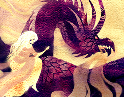 Beyond the Wall fanzine: Dany and Drogon