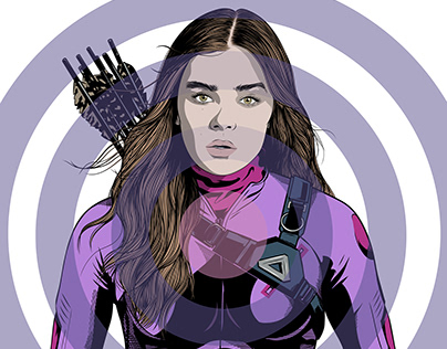 Hailee Steinfeld as Kate Bishop, Marvel's Hawkeye