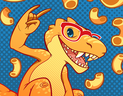 Mascot Redesign Project: Cheesasaurus Rex