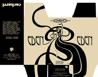 Packaging Art Nouveau/Embalagem Art Nouveau