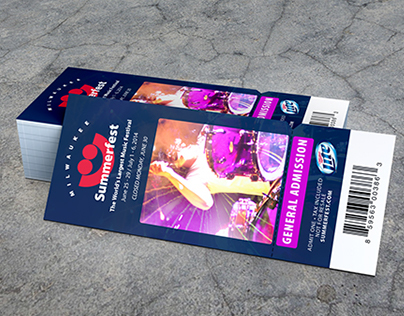 Summerfest 2014 Admission Tickets