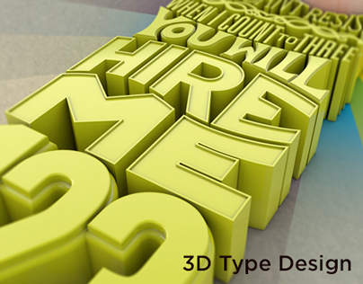Chris Boyd - 3D Type