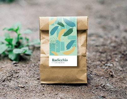 Radicchio Branding: Organic Seeds
