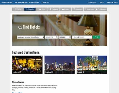 Travel Hotel Redesign