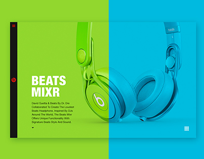Beats by Dre - Responsive Design Concept