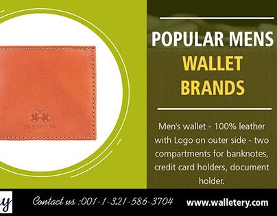 Popular Mens Wallet Brands | 00113215863704 | walletery