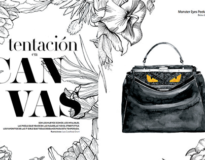 Advertorial for Marie Claire Magazine