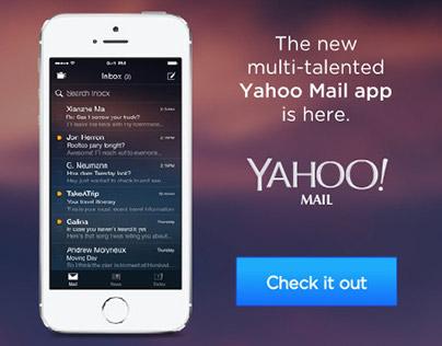 Yahoo Unified Mail App Digital Display Advertising
