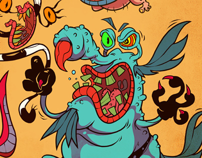 Aaahh!!! Real Monsters - endless tribute.