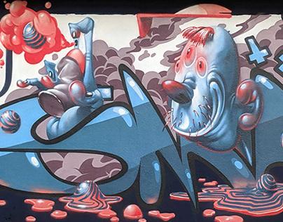 Graffiti 2016 - 2019