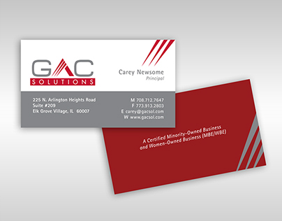 GAC Solutions Brand Identity and Website