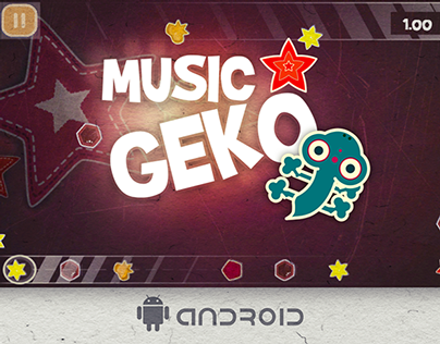 Music Geko - Music game for Android and Web Browser.