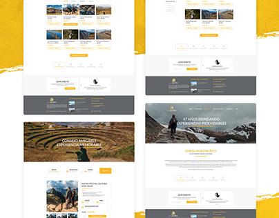 Web Vipac - UI Design